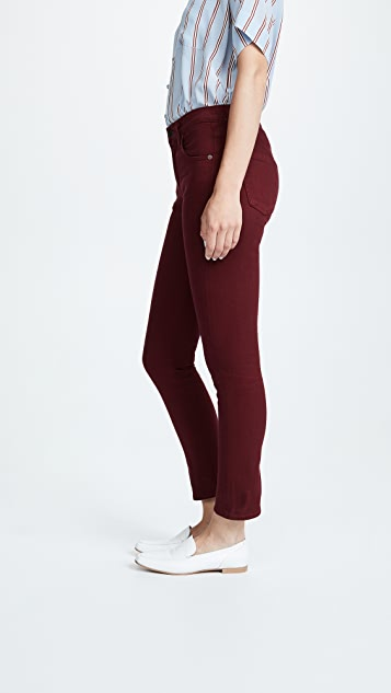 Citizens of Humanity Elsa Mid Rise Slim Fit Crop Jeans