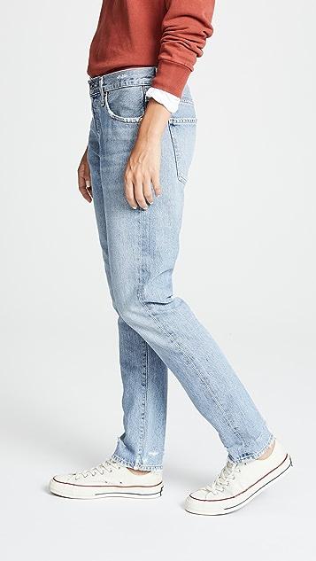 Citizens of Humanity Узкие джинсы с напуском Corey