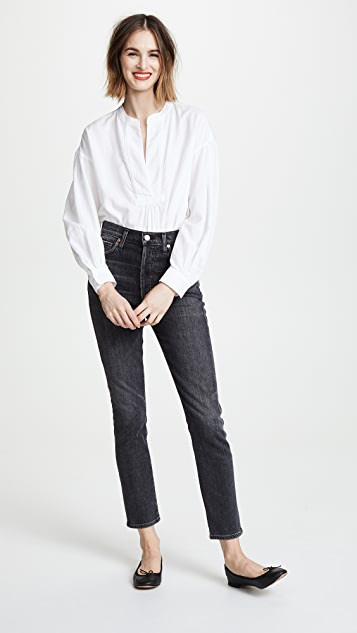 Citizens of Humanity Olivia High Rise Slim Ankle Jeans