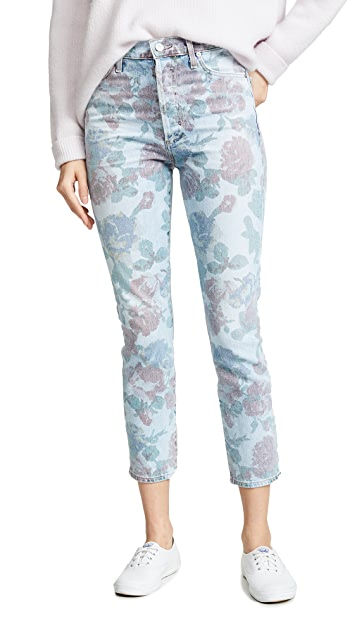 Citizens of Humanity Olivia Crop High Rise Slim Jeans