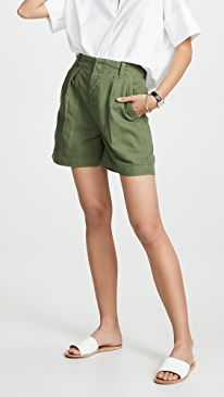 Cassidy Pleated Shorts