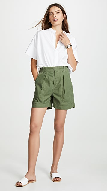 Citizens of Humanity Cassidy Pleated Shorts
