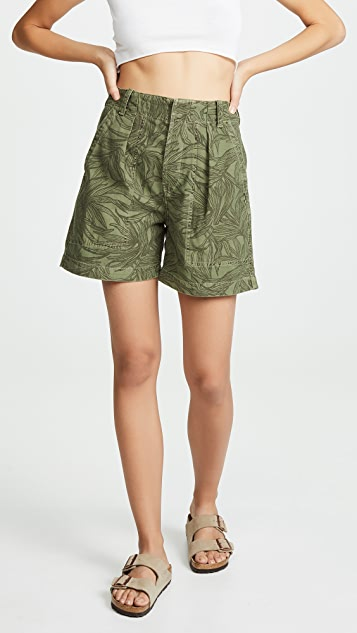 Citizens of Humanity Cassidy Pleat Pocket Shorts