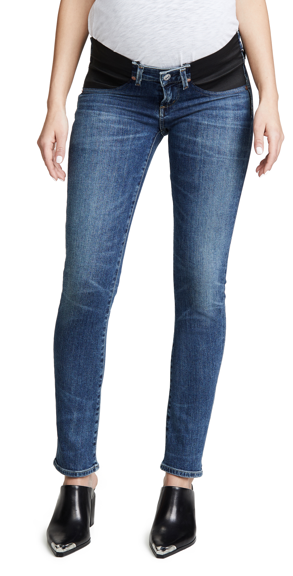 Citizens of Humanity Maternity Racer Below the Belly Jeans