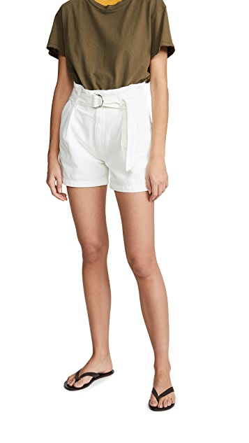 Citizens of Humanity Yvette Belted Shorts