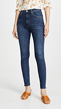 Chrissy Uber High Rise Skinny Jeans