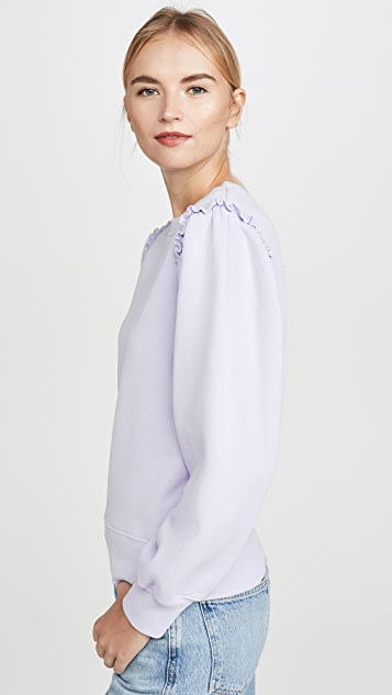 Citizens of Humanity Edie Puff Sleeve Sweatshirt