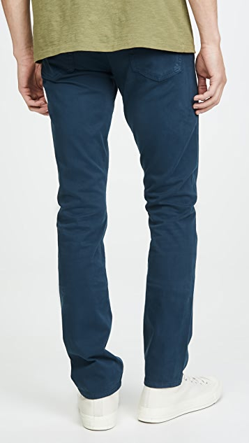 Citizens of Humanity Bowery Standard Slim Luxury Sateen Pants