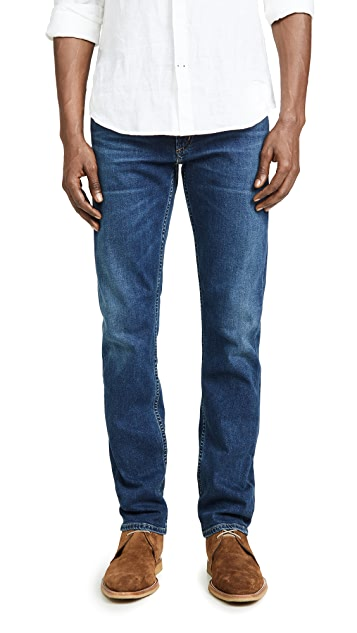Citizens of Humanity Bowery Standard Slim Jeans in Riverside Blue Wash