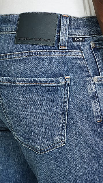 Citizens of Humanity Gage Classic Straight Jeans in Aurora Wash