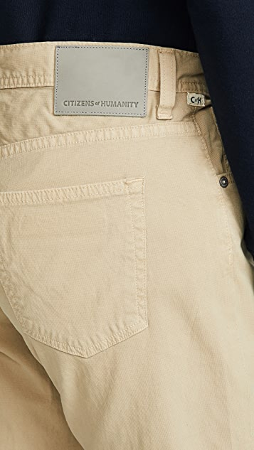 Citizens of Humanity Luxury Gage Classic Straight Jeans in Sand