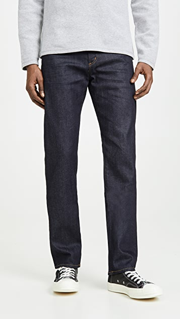 Citizens of Humanity Core Slim Straight Jeans in Lafayette Wash