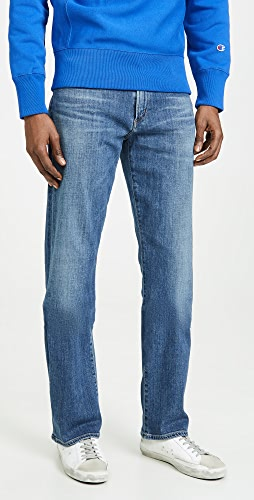 Citizens of Humanity - Sid Regular Straight Jeans in Aurora Wash