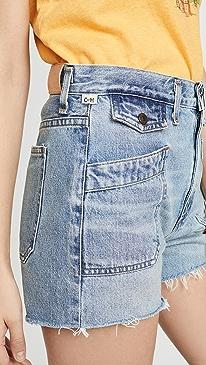 Kamila Patch Pocket Shorts