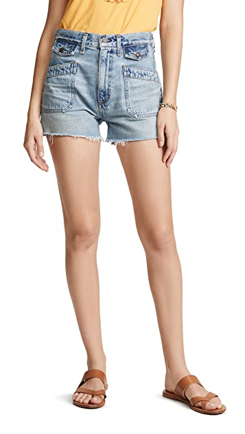Citizens of Humanity Kamila Patch Pocket Shorts