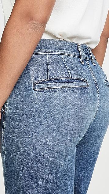 Citizens of Humanity Длинные премиальные джинсы в стиле брюк Ivy