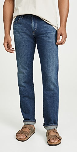 Citizens of Humanity - Gage Classic Straight Jeans in Barent Wash