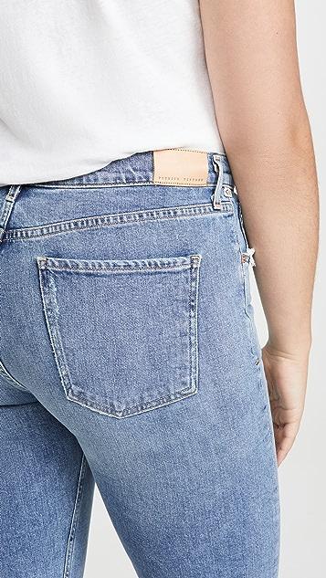 Citizens of Humanity Прямые джинсы Charlotte с высокой посадкой