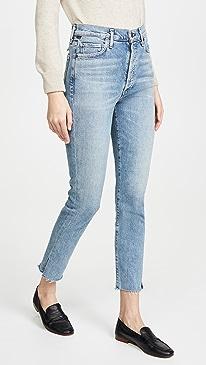 Olivia High Rise Slim Jeans