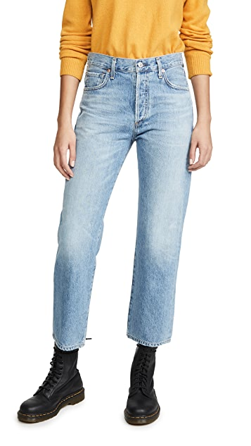 Citizens of Humanity Emery Relaxed Crop Jeans
