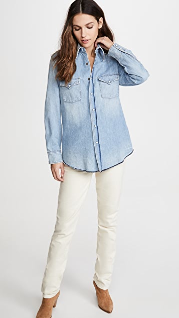 Citizens of Humanity Jules Slim Western Shirt