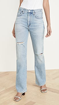 Libby Relaxed Bootcut Jeans