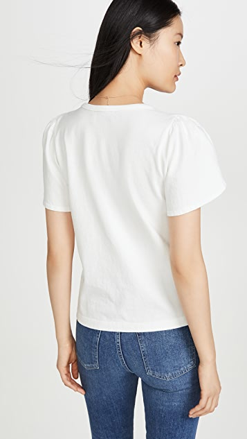 Citizens of Humanity Adele Tulip Sleeve T-Shirt