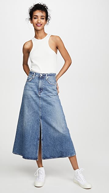Citizens of Humanity Tessa Vintage Denim Skirt
