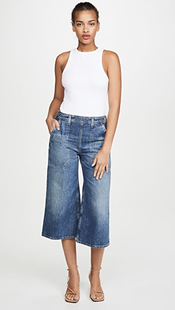 Citizens Of Humanity Jackie Side Button Culottes Favorite