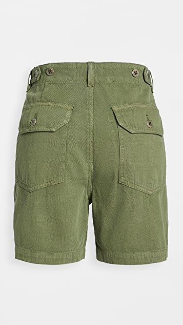 Citizens of Humanity Madeline Relaxed Patched Pocket Shorts