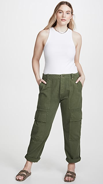 Citizens of Humanity Zadie High Rise Surplus Pants