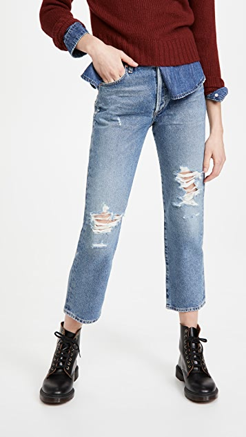 Citizens of Humanity Emery High Rise Relaxed Crop Jeans