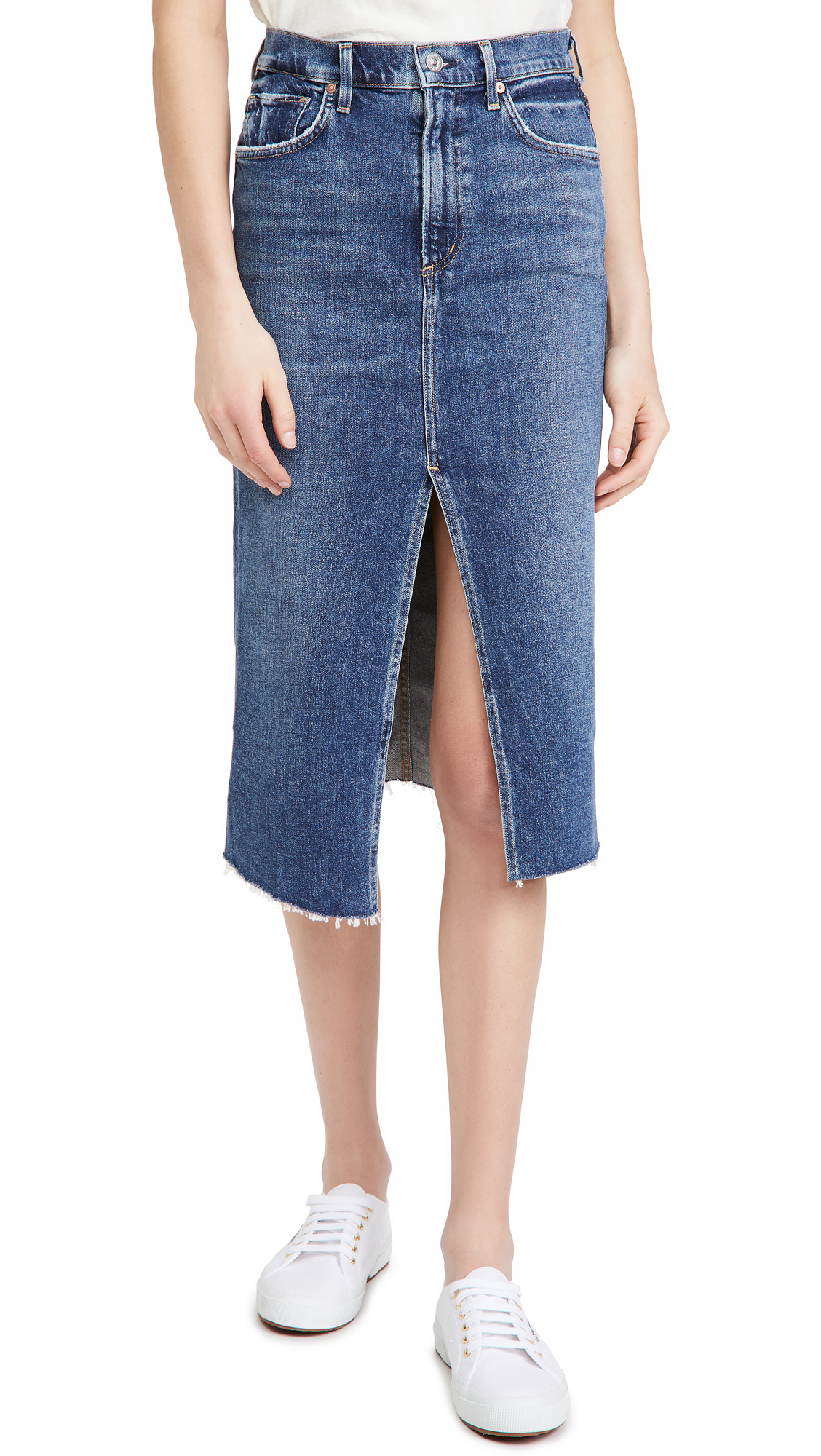 Citizens of Humanity Aubrey Front Slit Skirt