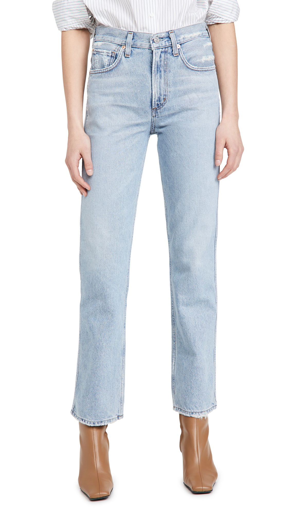 Citizens of Humanity Daphne High Rise Stovepipe Jeans