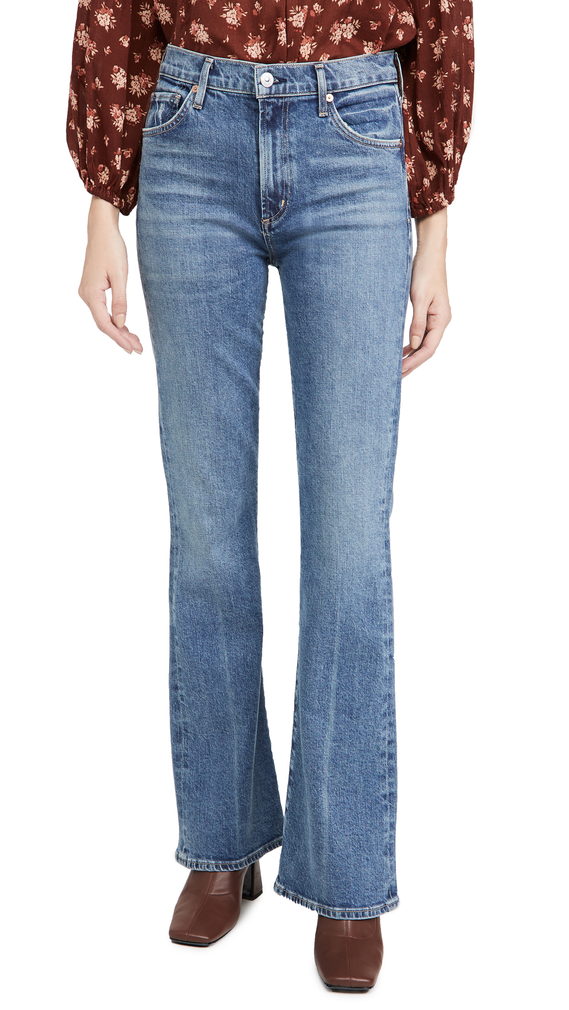 Citizens of Humanity Lilah High Rise Boot Cut Jeans