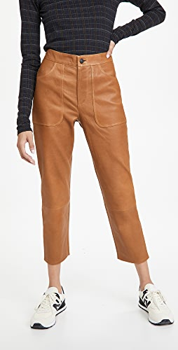 Citizens of Humanity - Emma Leather Patch Pocket Pants