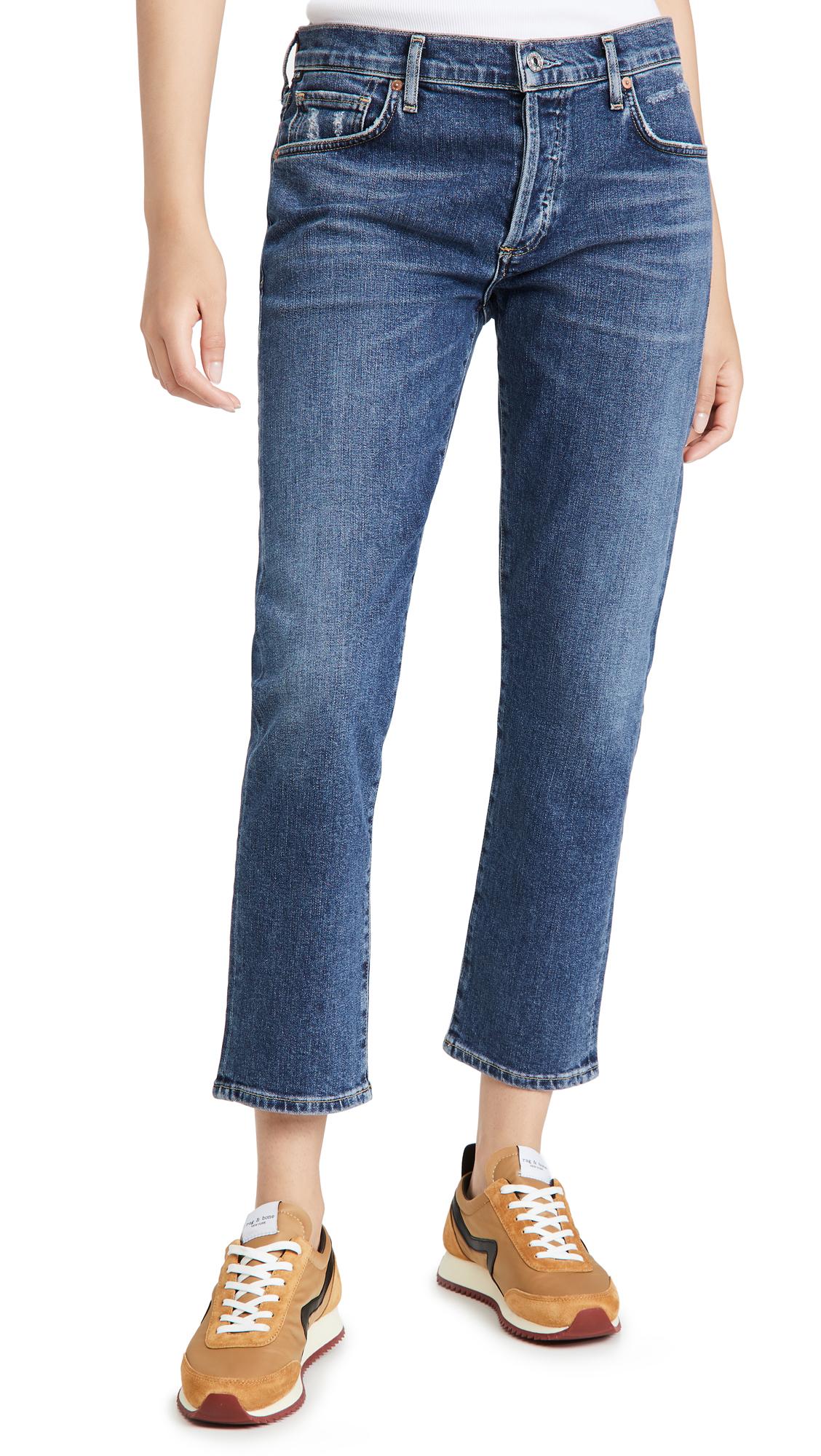 Citizens of Humanity Emerson Slim Boyfriend Distressed Jeans