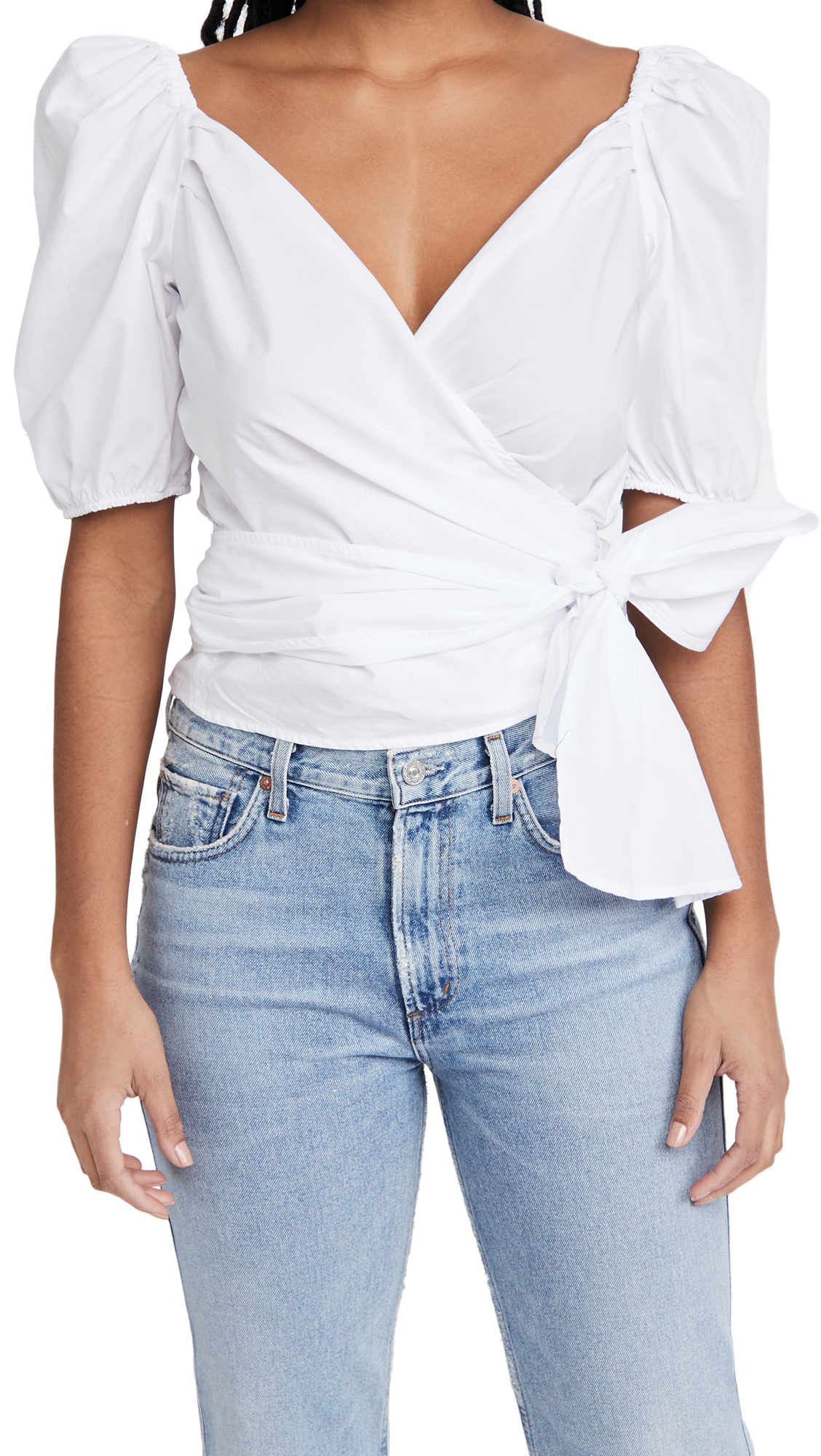 Citizens of Humanity Areli Wrap Top