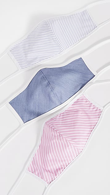 Citizens of Humanity 3 Pack Cotton Face Coverings