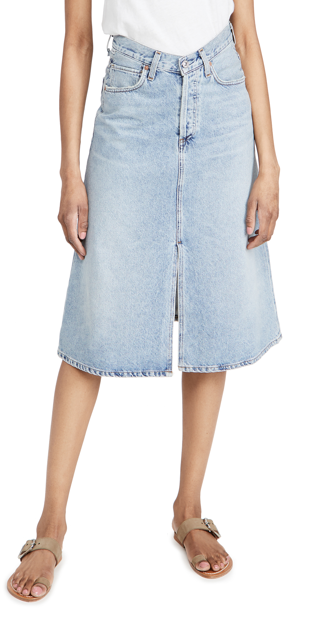 Citizens of Humanity Elle V Front Skirt