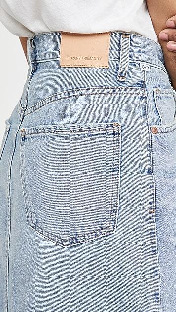 Citizens of Humanity Elle V Front Skirt