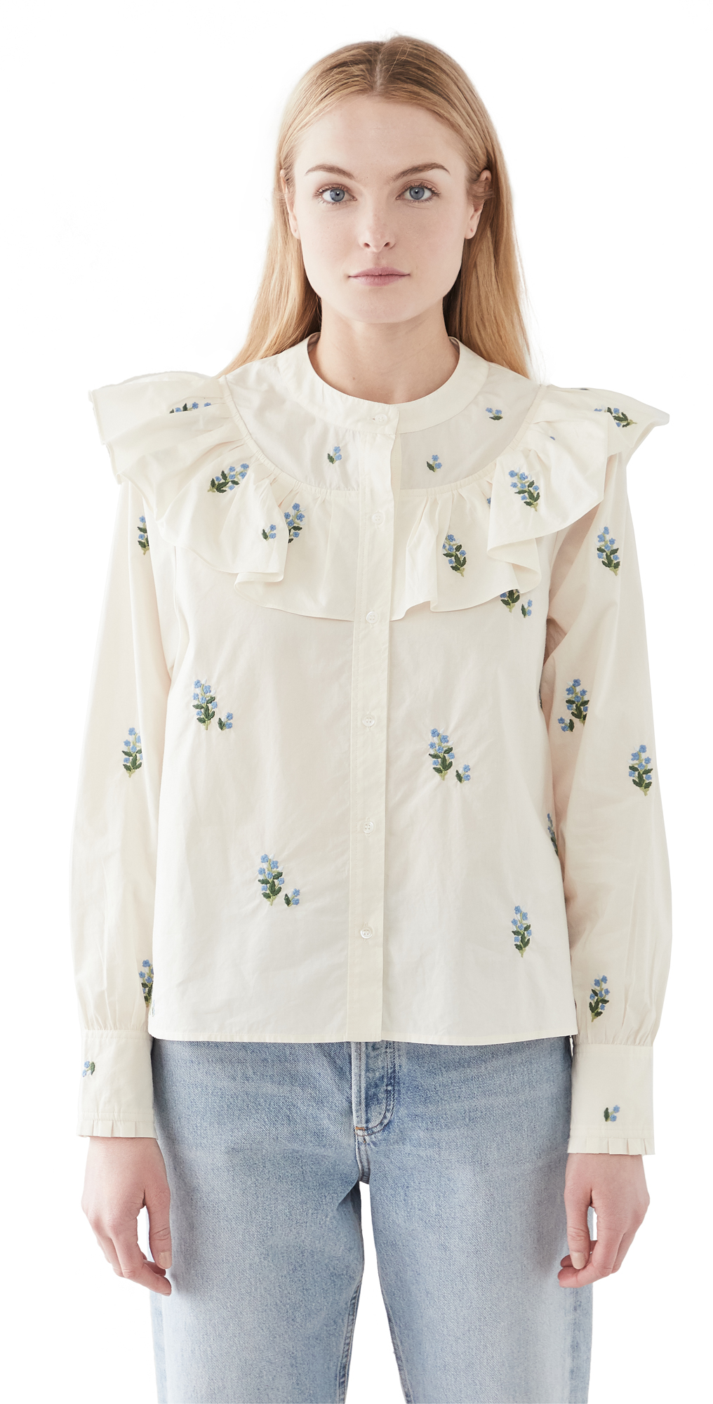 Citizens of Humanity Evie Embroirdered Blouse
