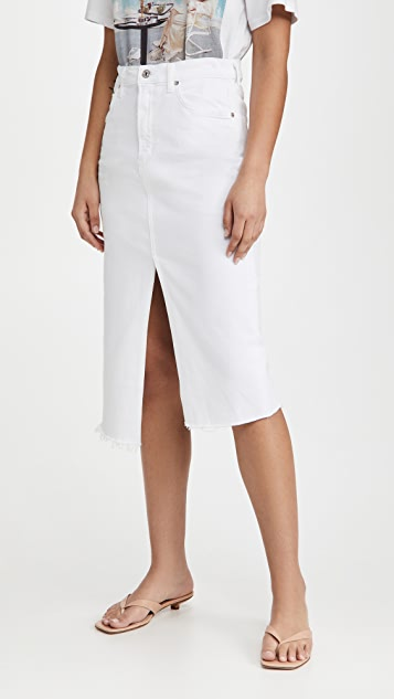 Citizens of Humanity Aubrey Front Slit Maxi Skirt