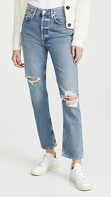 Citizens of Humanity Sabine High Rise Straight Jeans