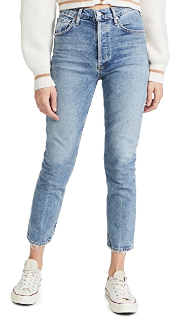 Citizens of Humanity Jolene High Rise Straight Jeans