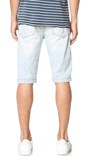 Calvin Klein Jeans Taper Denim Shorts
