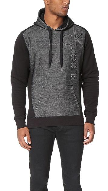 Calvin Klein Jeans Bonded Logo Hoodie