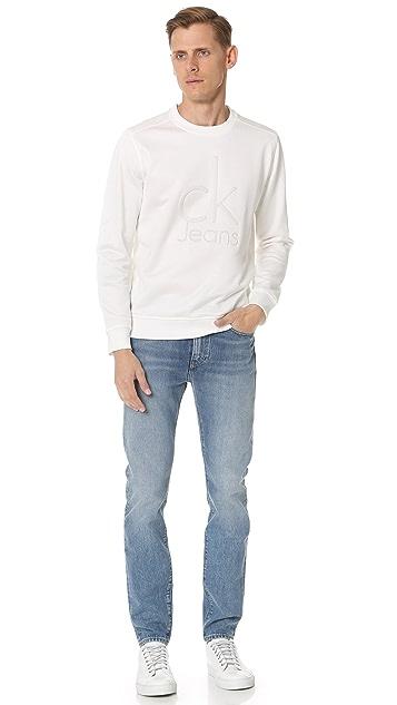 Calvin Klein Jeans Embossed Logo Sweatshirt