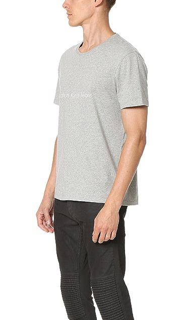 Calvin Klein Jeans Reissue Logo Tee