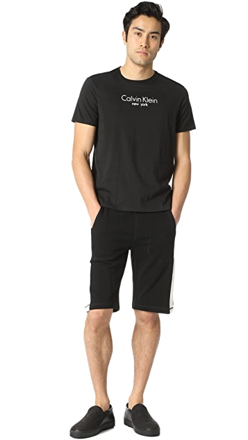 Calvin Klein Jeans Colorblock Logo Shorts